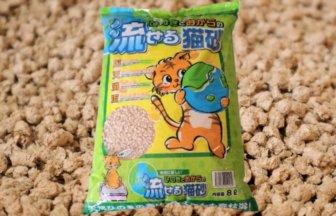 ひのきとおからの流せる猫砂のアイキャッチ画像