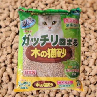 ガッチリ固まる木の猫砂のアイキャッチ画像