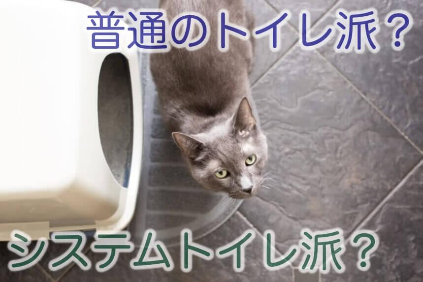 システムトイレか普通トイレか