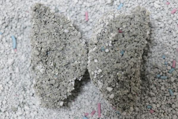 スーパーDC200の尿の固まり断面
